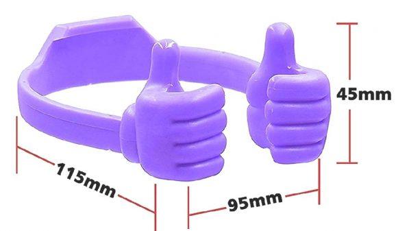 mobile holder hand