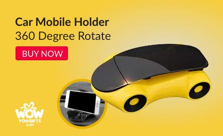 Unique car theme mobile holder
