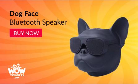 Dog Face bluetooth Speaker