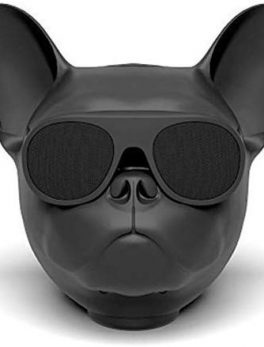 bluetooth speaker with dog face