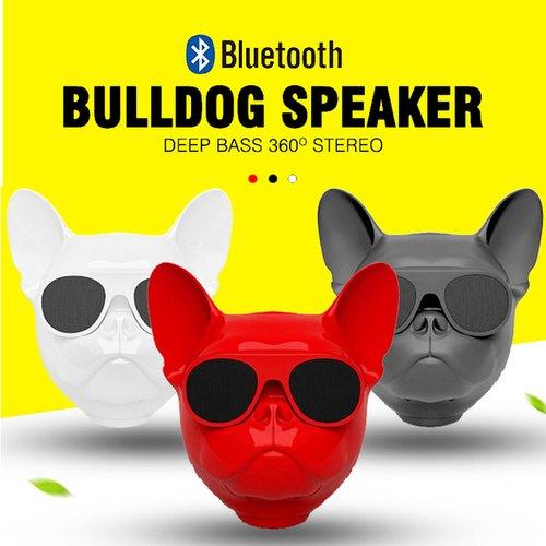 wireless dog face bluetooth speaker