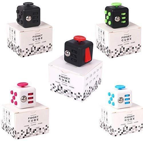 fidget cube in multi color
